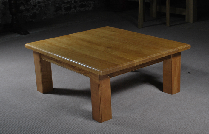 European Oak Coffee Table From The Oak And Pine Barn Hampshire