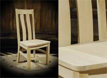 Solid OAK Kitchen and Dining Chairs