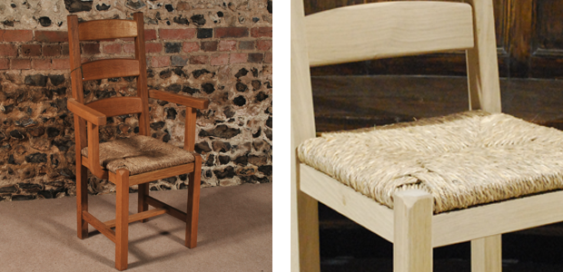 Charming Ladder Back Pair. The Solid Oak Ladder Back Dining Chair ...