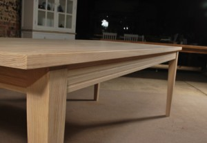 Unfinished Solid Oak Table